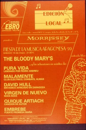 Cartel de los Premios en su primera edición